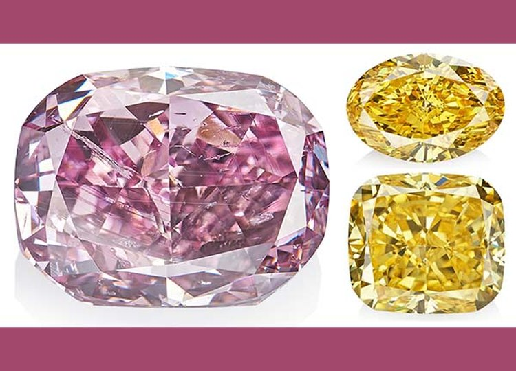 Largest Purplish-Pink Diamond Ever Graded by GIA Headlines Alrosa's 'True Colour' Auction