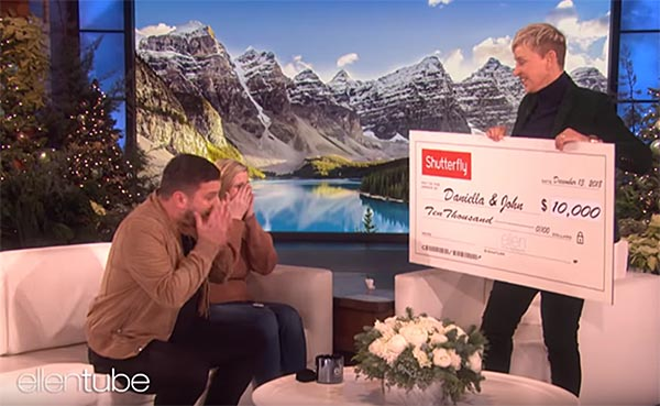 British Tourists Who Lost Engagement Ring in Utility Grate Return to U.S. to Appear on 'Ellen'
