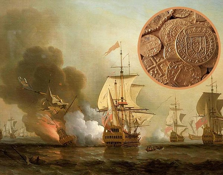 Unmanned Sub Positively IDs 300-Year-Old Spanish Wreck Laden With $17B in Gold and Emeralds