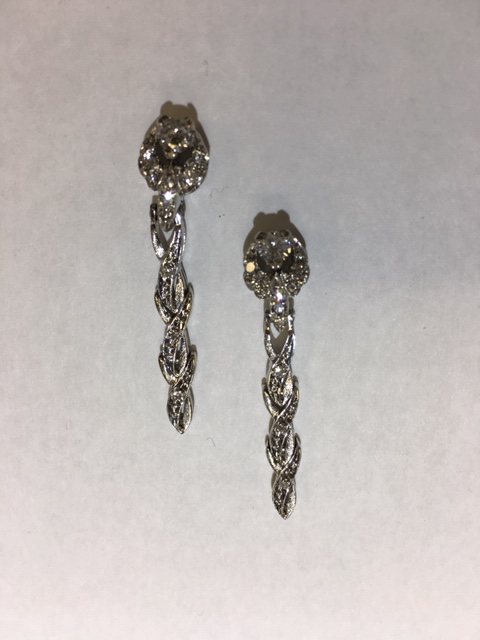Earrings from watch band IMG 8196