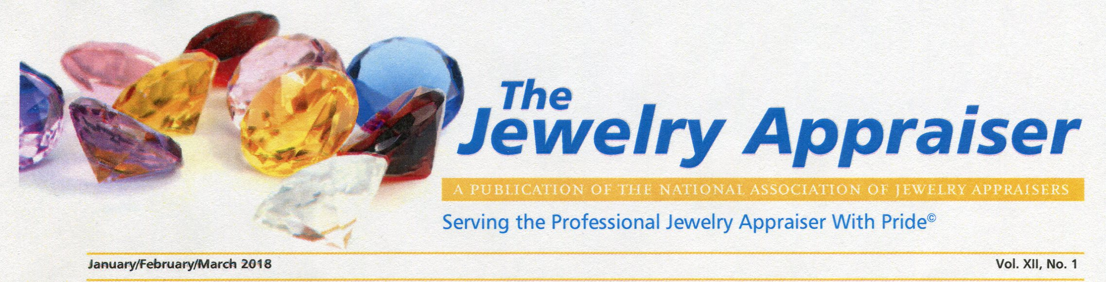 The jewelry appraiser March 2018 (1)